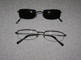 очки со стеклами с антирефлексным покрытием