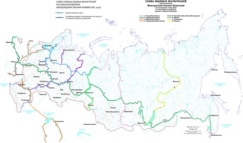 Схема водяных магистралей